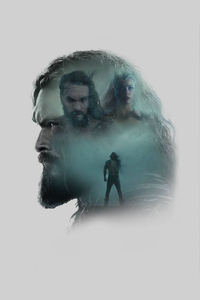 480x854 Jason Momoa As Aquaman Zack Synders Justice League Minimal