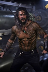 Jason Momoa In Aquaman 2018 Movie