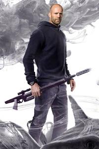 Jason Statham As Jonas Taylor In The Meg Movie