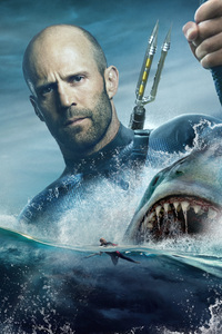 Jason Statham In The Meg Movie