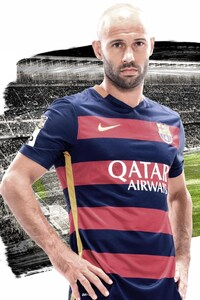 Javier Mascherano FC Barcelona