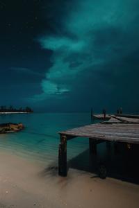 2160x3840 Jaws Beach In The Bahamas 5k
