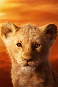 640x1136 JD McCrary As Simba The Lion King 2019 4k