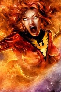 Jean Grey Phoenix Comic Character