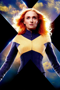 Jean Grey X Men Dark Phoenix Poster