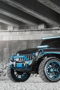 1440x2960 Jeep Wrangler 8k 2020