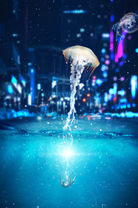640x1136 Jellyfish Manipulation