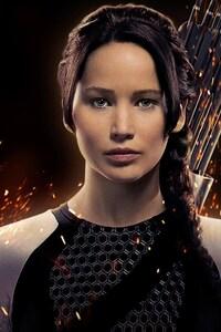 750x1334 Jennifer Lawrence As Katniss