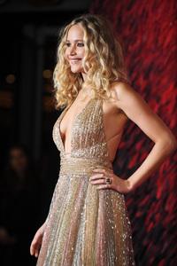 Jennifer Lawrence At Premiere In London