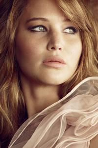 750x1334 Jennifer Lawrence Glamour Uk 4k