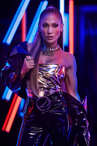 240x320 Jennifer Lopez NFL Super Bowl LIV 2019