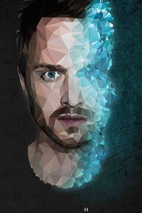 Jesse Pinkman Breaking Bad 4k Low Poly
