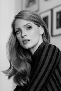 Jessica Chastain Monochrome