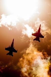 1242x2688 Jet Fighters