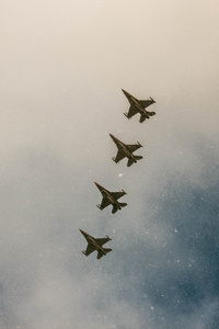 480x800 Jet Planes In Sky