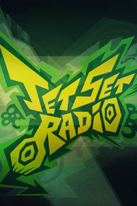 Jet Set Radio Typography 4k
