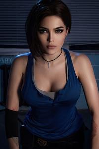 320x568 Jill Resident Evil Cosplay