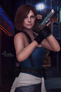 1080x2160 Jill Valentine Resident Evil