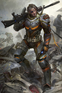 Joe Manganiello As Deathstroke Art