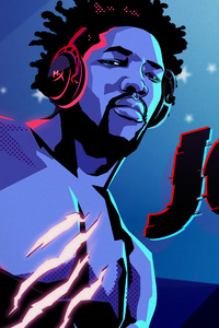 240x320 Joel Embiid NBA Player And Avid Gamer HyperX