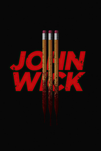 360x640 Joh Wick 3 Dark Poster