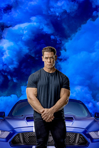 320x480 John Cena In Fast And Furious 9 2020 Movie