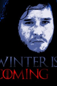 1125x2436 John Snow and Ghost