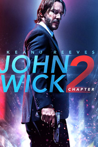 1242x2688 John Wick 2 Bluray Poster