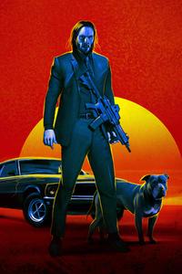 1080x1920 John Wick 3 Fan Poster