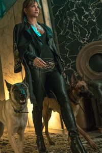 1080x2280 John Wick 3 Movie Halle Berry