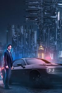 480x854 John Wick Chapter 3 Altenate Poster 4k