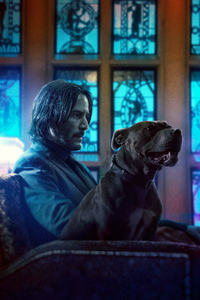 240x320 John Wick Chapter 3 Parabellum Movie 2019 Poster