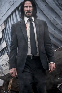 240x400 John Wick Chapter 3 Parabellum New 5k