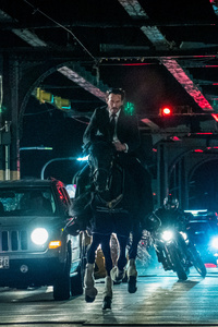 1242x2688 John Wick Chapter 3 Still
