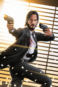 480x854 John Wick Is Coming 4k