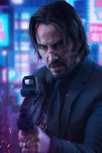 480x854 John Wick Movie 4k