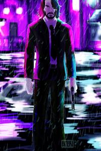 John Wick4k Art
