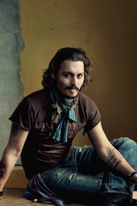 2160x3840 Johnny Depp 5k
