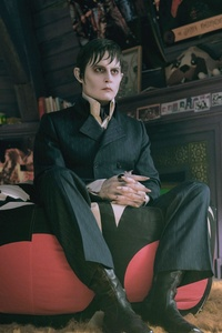 Johnny Depp In Dark Shadows Movie