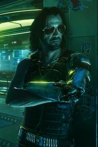 540x960 Johnny Silverhand 4K Cyberpunk 2077