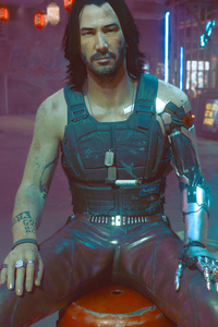 Johnny Silverhand Cyberpunk 2077 Game 4k 2021