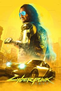 Johnny Silverhand Cyberpunk 4k 2077