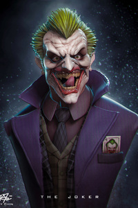 Joker 3d Art