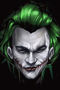 Joker 4k Face Minimal