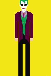 Joker 4k Minimalism