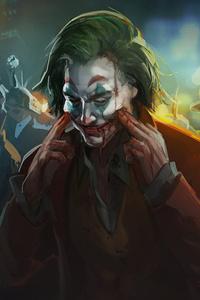 Joker Always Smile 4k