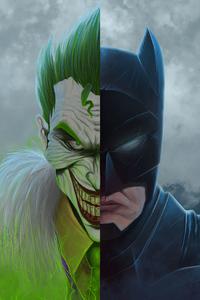 Joker And Bat 4k