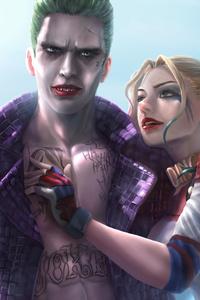 Joker And Harley Quinn 8K Artwork