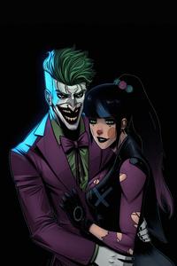 1125x2436 Joker And Punchline 4k
