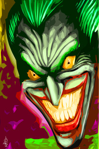 1080x1920 Joker Art 4k